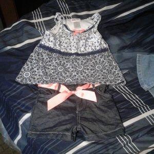 Tank top matching shorts